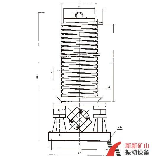 垂直提升机CAD图纸