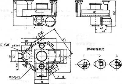 吊式圆盘给料机外形图