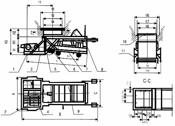 往复式给料机图片CAD图纸