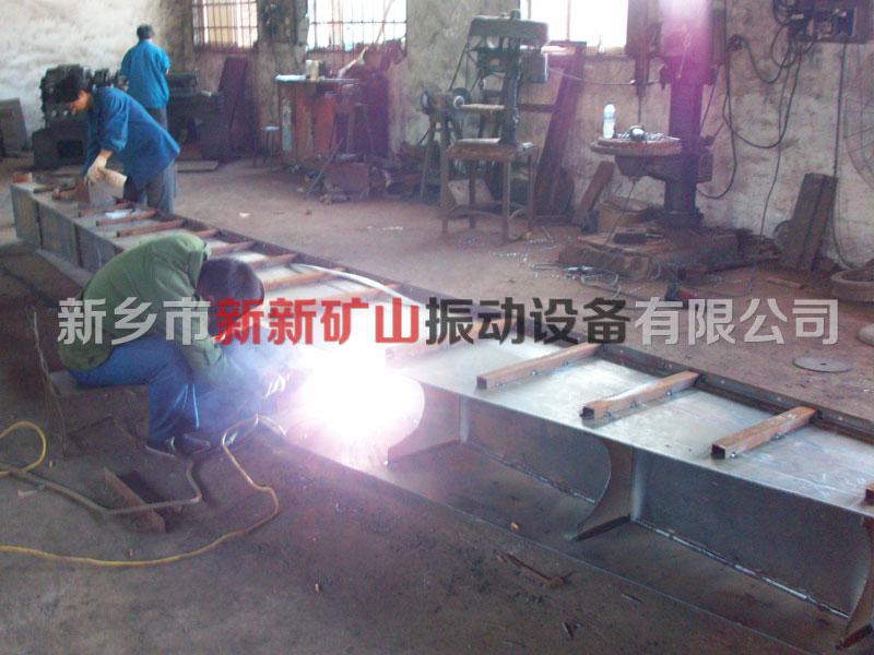 水平输送机焊接工艺