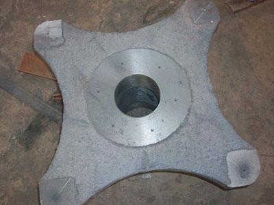 圆盘给料机的构件小齿轮