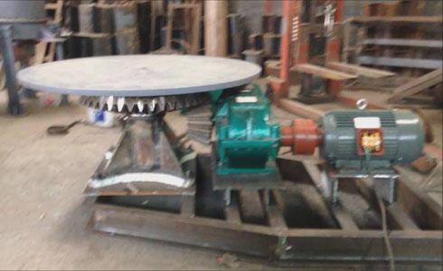 座式圆盘给料机工作原理调试视频