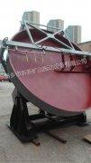 一台QPYφ2800敞开式圆盘造粒机发往江苏