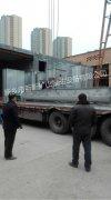 圆盘造粒机斗式提升机等设备装车发往重庆
